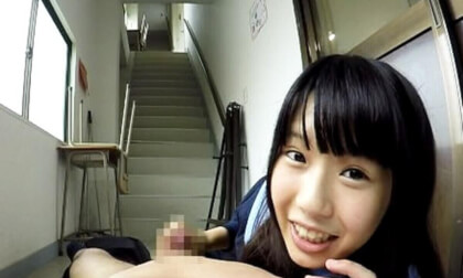 Arisu MIzushima – Nipple Teasing to the Point of Embarrassment - Schoolgirl Tease and Blowjob