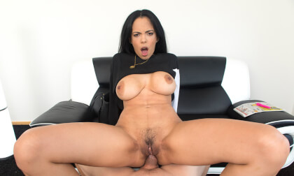 Looking For A Job  - Big Tits Pornstar Anal