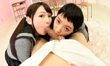 Shuri Atomi & Ai Mukai – Nipple Licking Private Tutor Schoolgirls