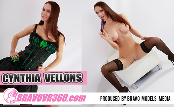 Cynthia Vellons Big Tits and Vibrator - Busty Pornstar Toying