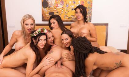 Ocean's Sex III - Big Tit Pornstar Orgy