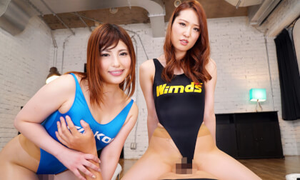 Reina Shirogane & Mizuki Hayakawa – Heavenly Threesome During Photography Club Event