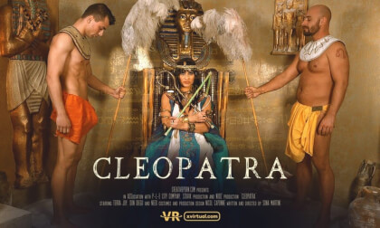Cleopatra - Cosplay Riding and Blowjob
