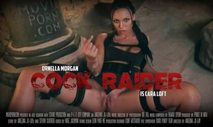 Cara Loft: Cock Raider - Cosplay Parody Babe