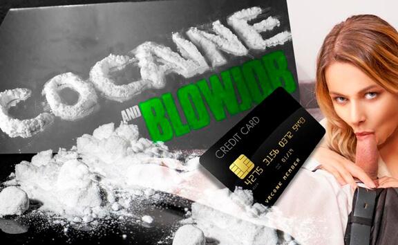 Blowjob And Cocaine - Pornstar Sucking