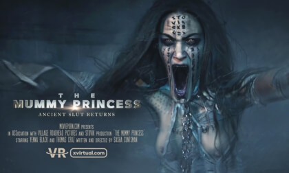 The Mummy Princess - Horror Porn POV