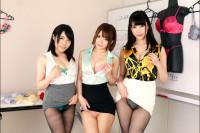 Rika Mari, Misato Nonomiya, Mayu Kuyano – Lingerie Maker Harem Sex Meeting VR porn