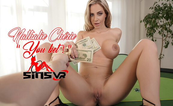 Nathalie Cherie - You Bet; Busty Pornstar POV