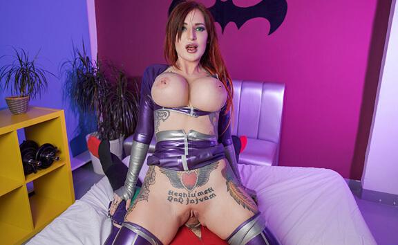 Starfire a XXX Parody - Busty Anal Cosplay