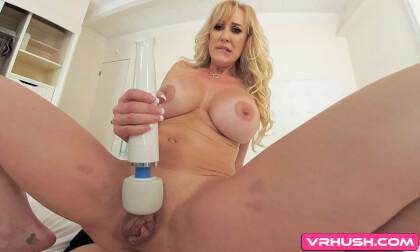 I Couldn't Wait To Get Back - Busty Blonde MILF Pornstar
