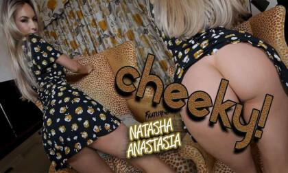 Cheeky! - Great Ass Curvy Blonde Striptease