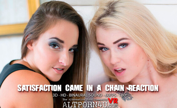 Satisfaction Game In A Chain Reaction - Teen Lesbian Toying