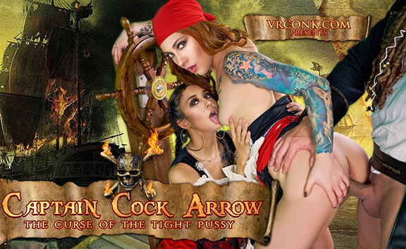 Captain Cock Arrow - Pirate Fantasty Threesome