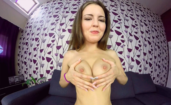 Cindy Shine Casting - Shaved Amateur Fingering