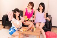 Yuri Nikaido, Rina Ayana, Rika Mari – Miniskirt Gyaru House Party Orgy VR porn