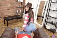 Cowgirl Comes to Town for Sex VR porn