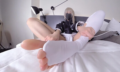 Erika - Cosplay Footfetish 3
