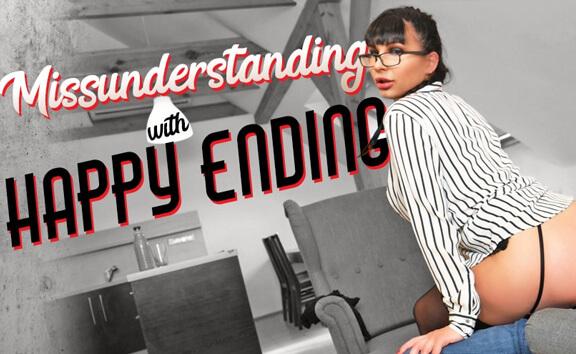 Misunderstanding with Happy Ending - Big Tit MILF