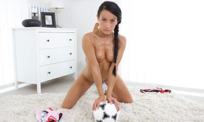 1 Football Fan - Petite Teen Fingering