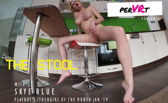 The Stool - Amateur Solo Masturbation