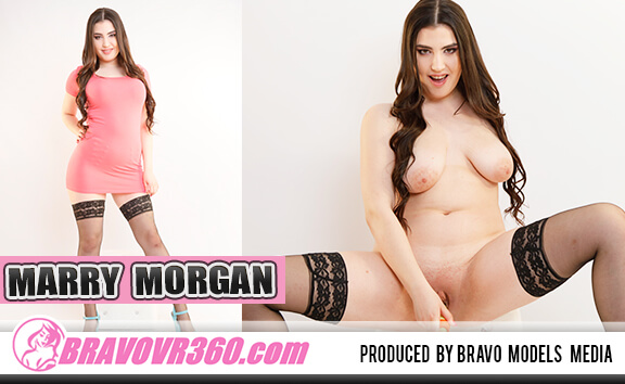 Busty Marry Morgan Toying Shaved Pussy - Shaved Teen Solo Model