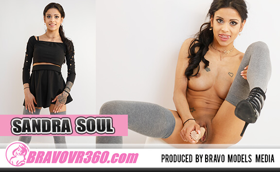 Tatted Up Band Girl Sandra Soul Cums - Petite, Shaved, Toying