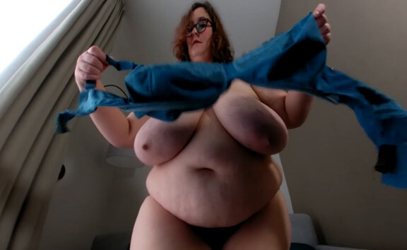 Bra Fitting with Beatrice - Big Tit MILF BBW