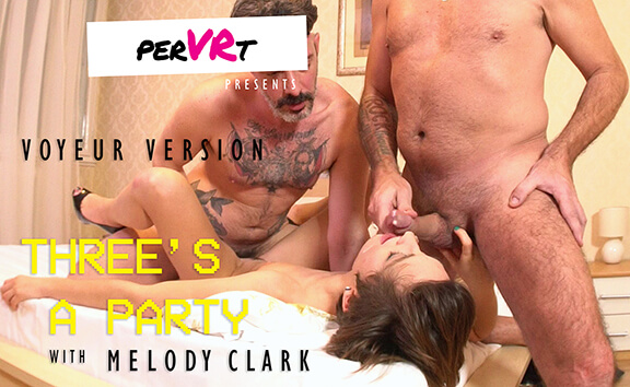 Three's a Party - Voyeur; Amateur Threesome