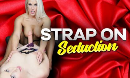 Strap On Seduction - Big Tit Lesbians POV