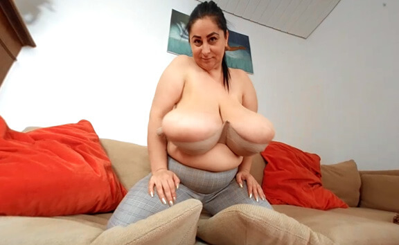 The Hot Leopard Blouse Strip with Alice85JJ - Amateur BBW with Big Tits