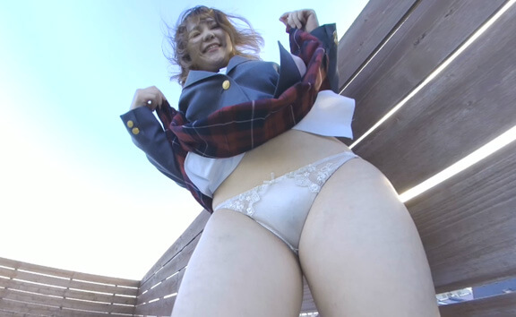 Schoolgirl Uniform Upskirt VR Part 1