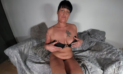 Kim S - Mysterious and Always Horny...; Amateur MILF Solo