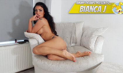 Bianca J, British Girl Foot-Worship Special! - Curvy Babe Solo