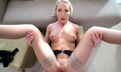 Experience Angelika Grays tight wet pussy - Hardcore Blonde VR