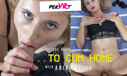 To Cum Home, Ep. 1; Amateur Blonde Hardcore POV