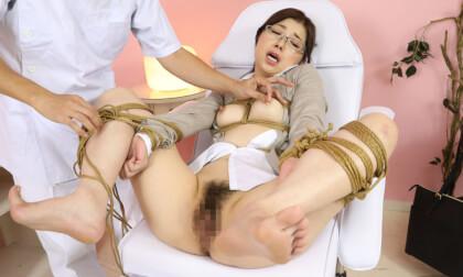 Tsubaki Katou – Shibari Massage Salon for Perverted Teacher Part 1; Hardcore Japanese BDSM Bondage