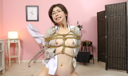 Tsubaki Katou – Shibari Massage Salon for Perverted Teacher Part 3; Hardcore Japanese BDSM Bondage