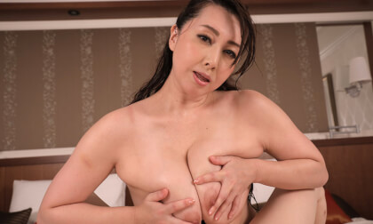 Yumi Kazama – I'm Just a Normal Guy Who Won a Contest to Date a JAV Star Part 3 - Japanese MILF