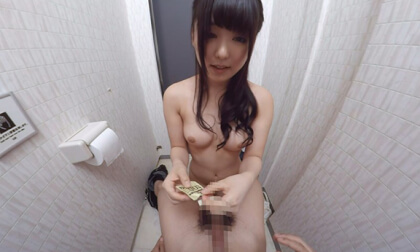 Azuki – Went Into the Women's Bathroom by Mistake Part 2; Sex in Public JAV