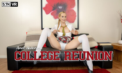 College Reunion - Schoolgirl Solo Blonde British