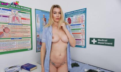 Wank Remedy - Blonde Babe Strips