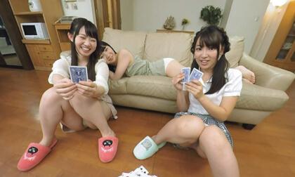 Ren Ichinose, Ayane Haruna, Harura Mori, and Yuzuka Shirai – Living in a Share-house with Really Cute Girls Part 1; JAV Orgy Japanese Teens