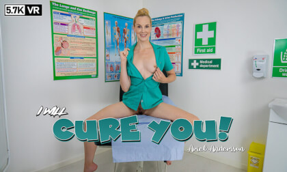 I Will Cure You - Nurse Fetish Striptease