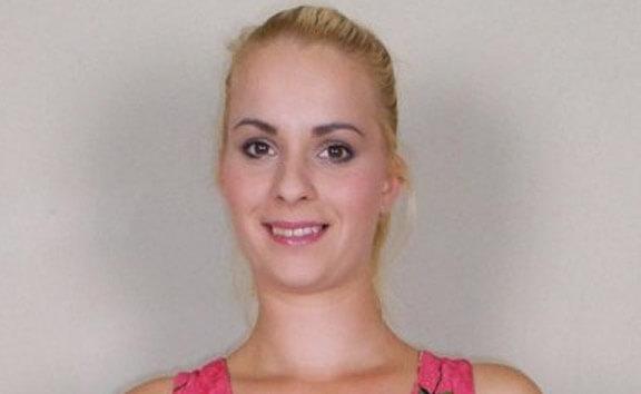 Ebba Sofie Casting - Blonde Amateur Fingering