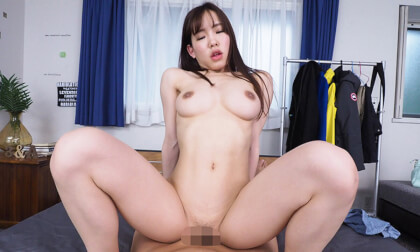 Yoshika Futaba – No Cut Extra Personal VR Experience Part 2; Japanese Teen VR Blowjob and POV Sex