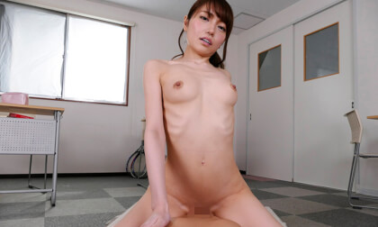 Mashiro Shirayuki – No Condom, No Pulling out, Creampie Sex Part 2; JAV Idol Nakadashi VR