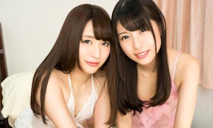 Yukine Sakuragi and Rena Aoi – Watch Us Have Lesbian Sex ~Young Women Edition~; JAV Teen Lesbian Japanese Rezu